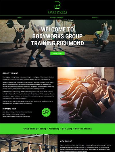 Bodyworks Group Fitness