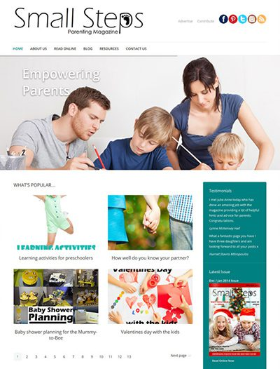 Small Steps Parenting Magazine